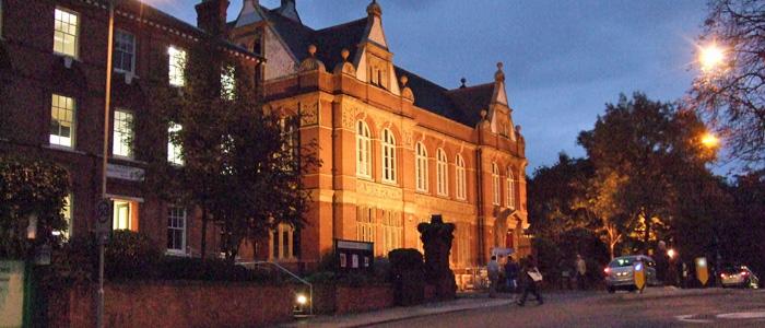 Blackheath Halls, 23 September 2009