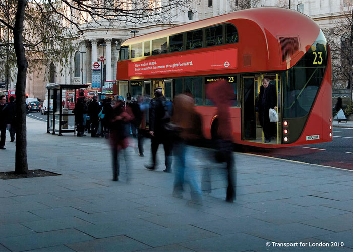 The New Bus For London, copyright Transport for London
