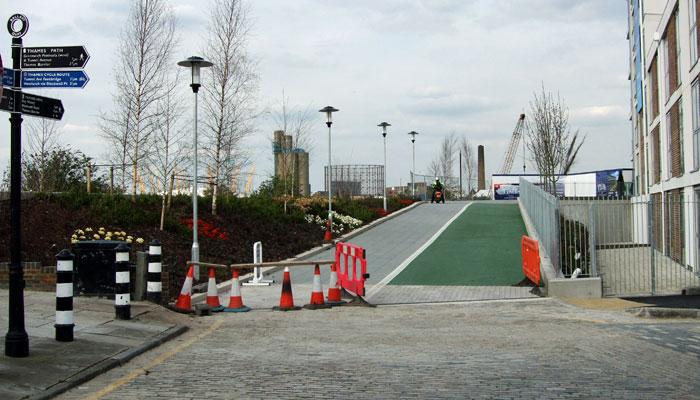 Lovell's Wharf, April 2010