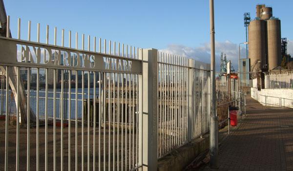 Enderbys Wharf, February 2010
