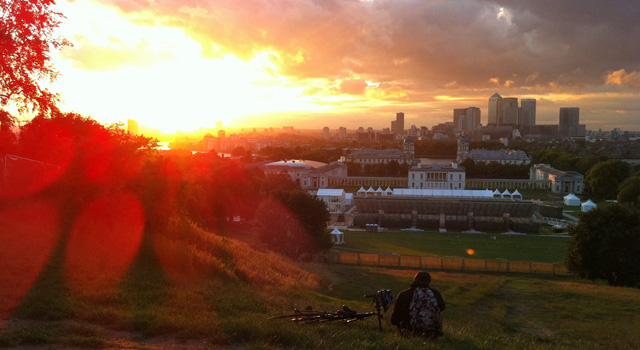Greenwich Park Sunset