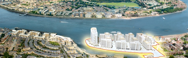 New Capital Quay render