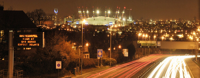 A102, from Charlton Road, taken in 2008