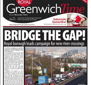 Greenwich Time, 4 December 2012