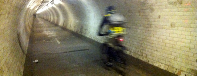 Greenwich Foot Tunnel, 13 December 2012