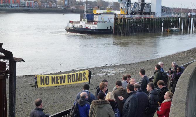 Greenwich Council Bridge The Gap launch, 4 January 2013