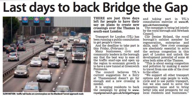Greenwich Time, 29 January 2013