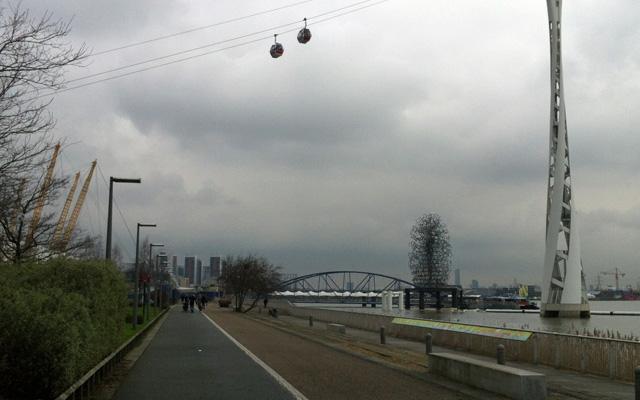Thames Path, 9 February 2013