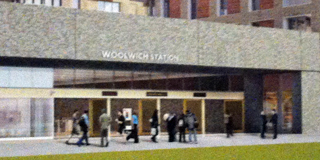 Woolwich Crossrail station
