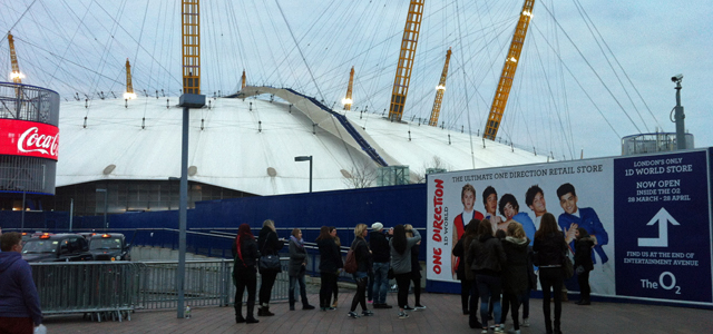 One Direction fans, 5 April 2013