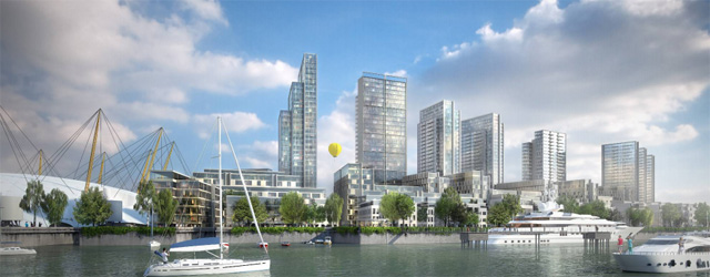 Quintain plans for Peninsula Quays site
