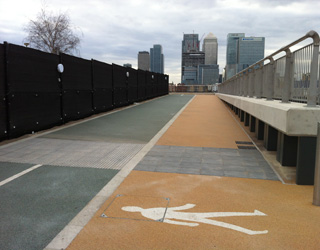 Thames Path, 31 March 2013