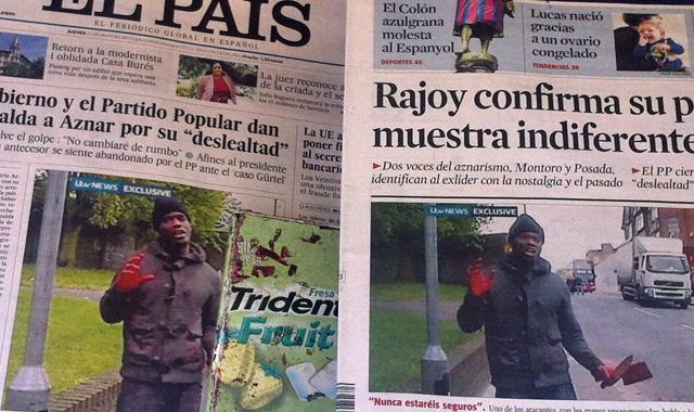 Barcelona newspapers, 23 May 2013