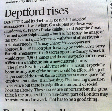 Evening Standard, 2 May 2013