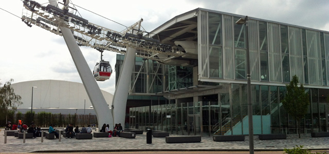 Thames Cable Car, 27 June 2013