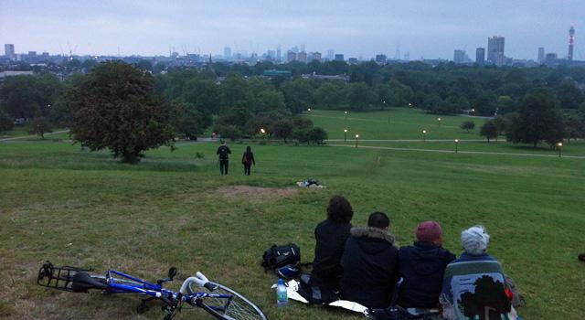 Primrose Hill, 21 June 2013