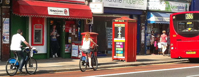 Trafalgar Road, April 2013