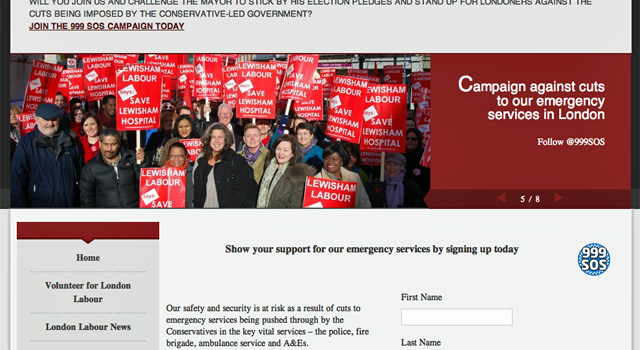 London Labour Party website