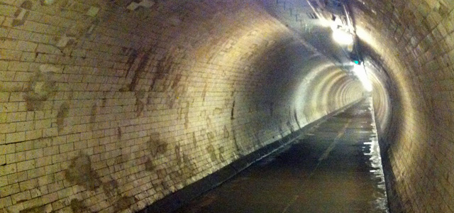 Greenwich Foot Tunnel, July 2013