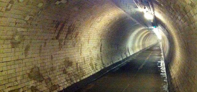 Greenwich Foot Tunnel, July 2013