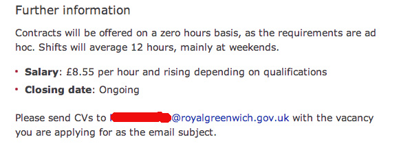 Greenwich Council website, 9 August 2013