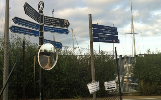 Peartree Way, 12 September 2013