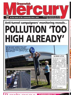 Greenwich Mercury, 29 September