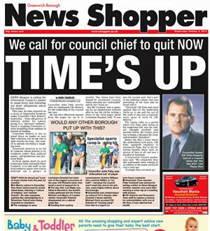 News Shopper Greenwich edition