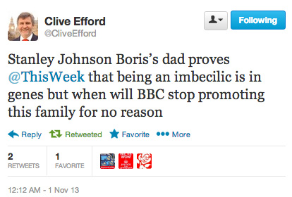 clive_efford_imbecile