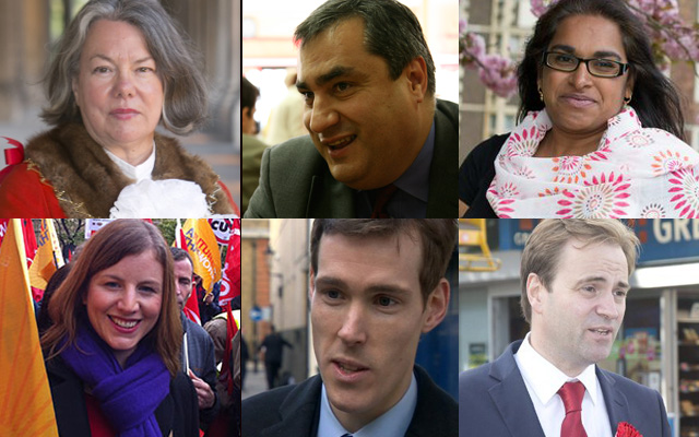 Labour's candidates for Greenwich and Woolwich
