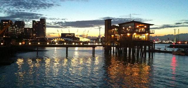 Greenwich Peninsula, July 2013