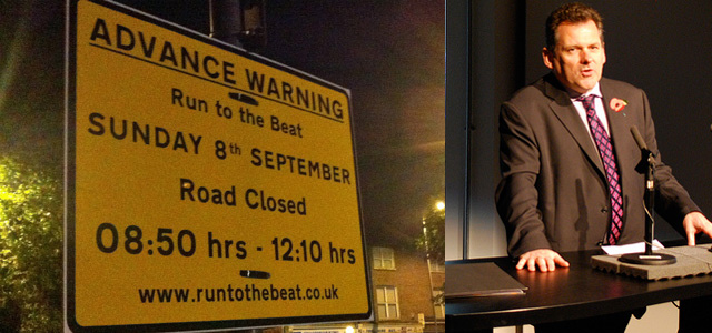 Run to the Beat / Chris Roberts