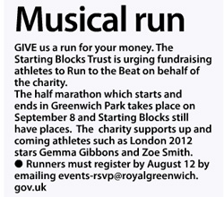 Greenwich Time, August 11 2013