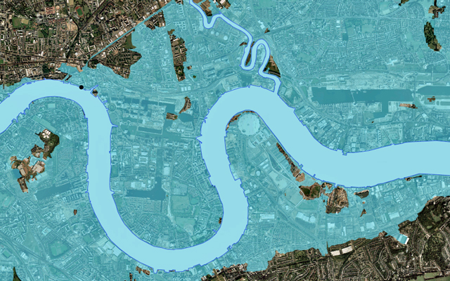 Environment Agency flood graphic