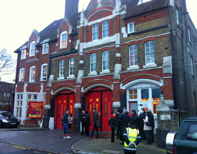Woolwich Fire Station, 9 January 2014