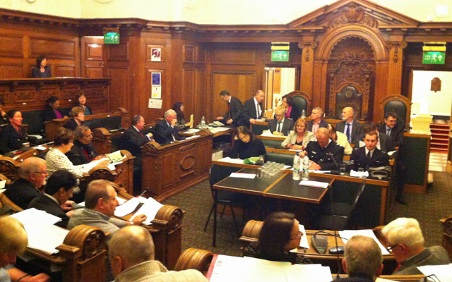 Greenwich Council meeting, 29 January 2014
