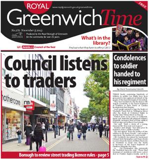 Greenwich Time, 5 November