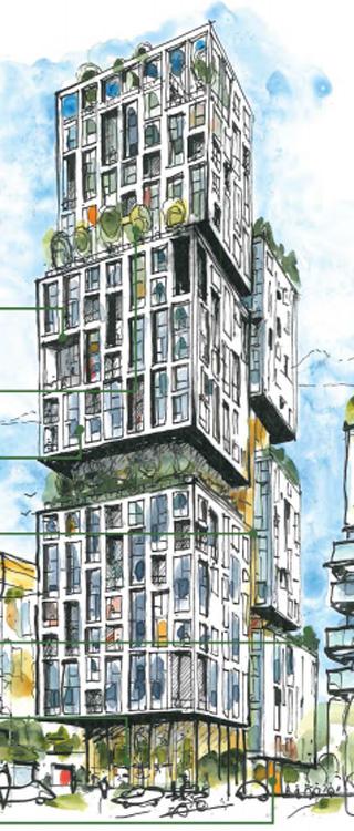 Kidbrooke Village tower proposal
