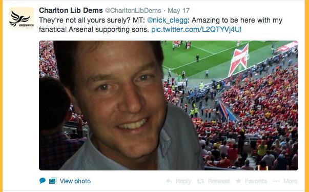 Charlton Lib Dems tweet