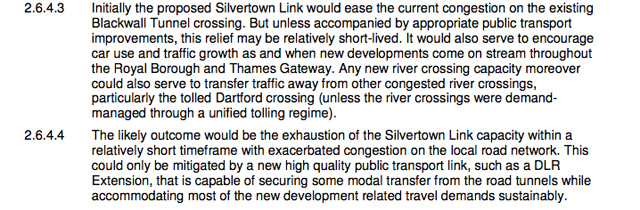 Suppressed Hyder Consulting report into Eltham DLR extension