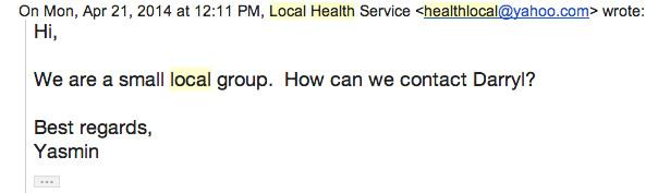 """""""Local Health Service"""""""