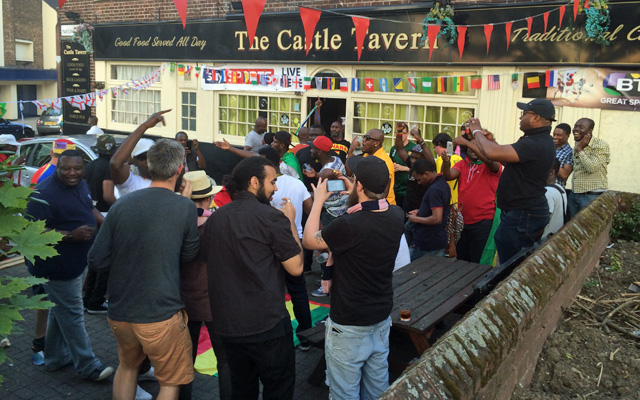 Castle Tavern, Woolwich, 21 June 2014