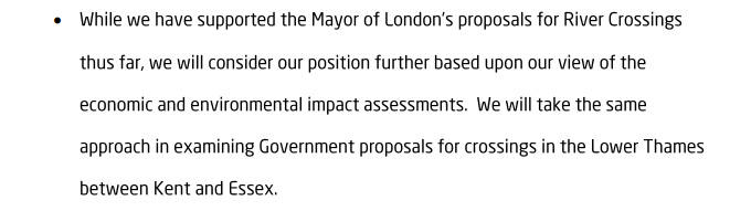Greenwich Labour manifesto, 2014
