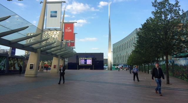 Peninsula Square, Greenwich, 12 June 2014