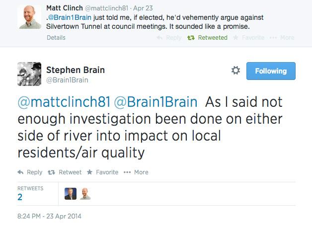 Stephen Brain on Twitter