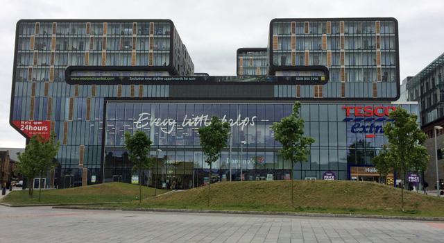 Woolwich Tesco, 15 June 2014