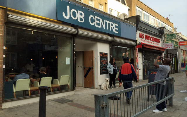 Job Centre, Deptford, 6 JUne 2014