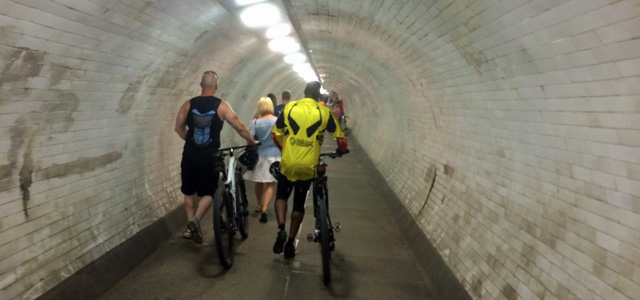 Greenwich Foot Tunnel, August 2014