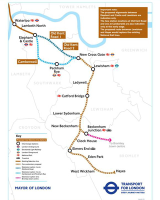 Bakerloo Line proposals/ TfL