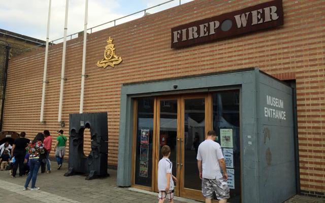 Firepower, Woolwich, 7 September 2014
